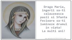 Draga Maria,  ingerii sa-ti calauzeasca pasii si Sfanta Fecioara sa-ti lumineze drumul in viata! La multi ani! Happy Birthday Me, Birthday Cards, Gifts, Greeting Cards For Birthday, Presents, Birthday Greetings, Favors, Gift, Happy Birthday Cards