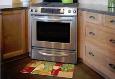 Decorative Kitchen Floor Mat