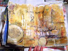 art journal page by © jennibellie  journalworkshops.ning.com