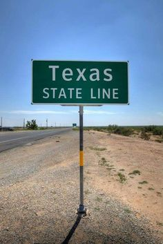 Texas state line
