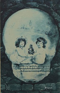 Antique Skull Illusion by ~Apolonis on deviantART