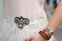 DIY: FEATHER PEPLUM TOP