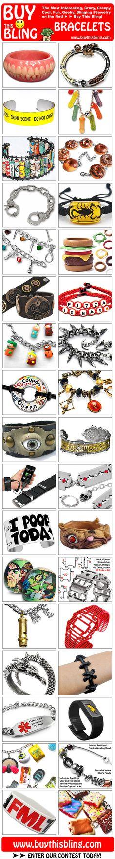 Bling Bling Bracelets from Buy This Bling! :)