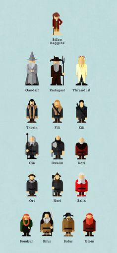 The Hobbit by Tuki Toku, via Behance