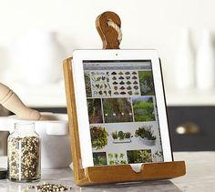 Cuisine Tablet Recipe Holder #potterybarn