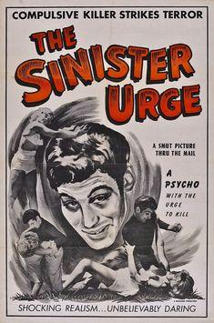THE SINISTER URGE 1960 Ed Wood Jr. cult film