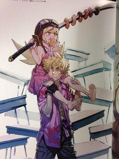The magic of Studio Trigger's You Yoshinari's... LESEAN THOMAS²