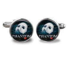 Phantom of the Opera Cufflinks Wedding Special by IdoCufflinks