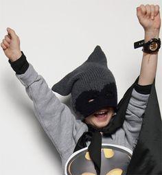 Modèle bonnet masque enfant - Modèles tricot enfant - Phildar