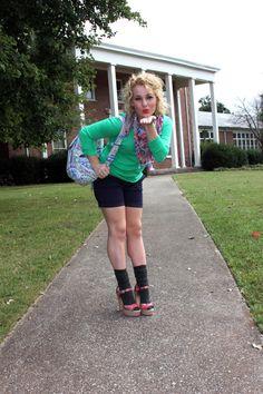 Abigail R. Preppy School Girl, Tiny Woman, Slouch Socks, Transgender Model, Pinup Couture, Lace Socks, Socks And Heels, Girls Socks, Vintage Fashion