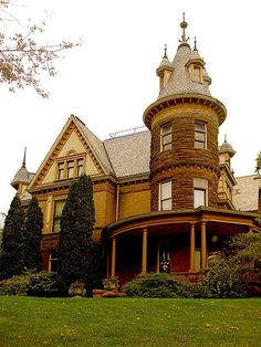 Henderson Castle, Kalamazoo, MI. Built in 1895, it is now used as a bed and breakfast.