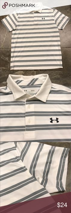 Men's Under Armour Polo Shirt Like new never worn size large Under Armour polo shirt! See photos for details;) Under Armour Shirts Polos