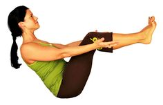 Boat Pose (with knees bent, you can straighten your legs to increase intensity) - Tone your core with this simple move! Runner Tips, Boat Pose, Yoga Moves, Solar Plexus Chakra, Healing Meditation, Lower Abs, Hip Workout, Human Anatomy, Plexus Products