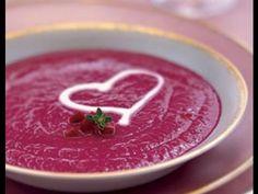 Свекольный суп крем