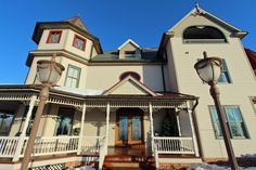 Combine the Best View Of Any B&B in Lancaster County PA with a Victorian style mansion - then you must be at the Hurst House Bed and Breakfast Lancaster PA! Lancaster County, House Beds, B & B, Bed And Breakfast, Victorian Fashion, Nice View, Mansions, House Styles, Home Decor