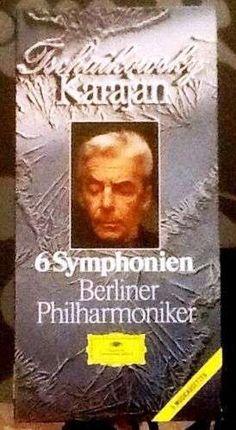 Tschaikowsky. Sinfonien. Karajan. Berliner Philharmoniker. Sehr Selten! Rarität. | eBay Ebay, Cover, Books, Shopping, Livros, Livres, Book, Blankets, Libri