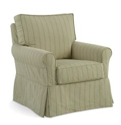"""Camille Chair Collection Style by Casco Bay Furniture - """"The comfort, quality and durability of Casco Bay's slipcover furniture compares to upscale brands like Lee and Mitchell Gold but at prices that are surprisingly affordable."""" #CascoBayFurniture #homedecor #slipcover #slipcoveredfurniture"""