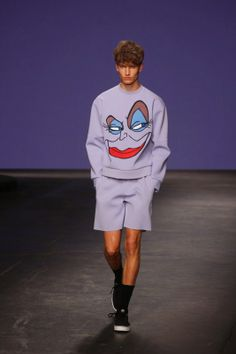 Bobby Abley S/S15 in http://www.percevalties.com/2014/06/bobby-abley-spring-summer-2015.html