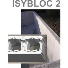 Une piscine à monter en bloc polystyrène easybloc 2 de 8m sur 4m et 1m50 de profondeur