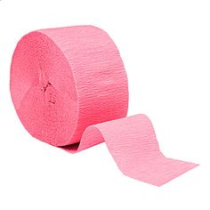 The Candy Pink Crepe Streamers are an easy and affordable way to add a splash of color to any party. Choose your Candy Pink Crepe Streamers in two great sizes. #Ballerina