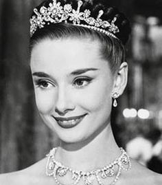Audrey Hepburn a Roman Holiday and yes also Breakfast at Tiffany's