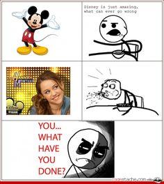 Why Disney? Why - Comics - Rage Comics - Ragestache