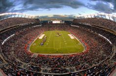 The Mile High City - Denver, Colorado Sports Authority Field at Mile High. <3