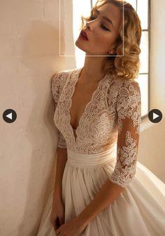 Brautkleid Chic Cheri B Perfect Wedding Dress, Dream Wedding Dresses, Bridal Dresses, Wedding Gowns, Lace Wedding, Wedding Attire, Beautiful Gowns, Pretty Dresses, Wedding Styles