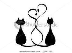 Трафареты кошек . Обсуждение на LiveInternet - Российский Сервис Онлайн-Дневников