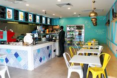 THE KEBAB LADS HARRISDALE & BULL CREEK | Shop Fit Out & Design Interior & Logo Design Perth Blue Pattern Bon Ton Tile s