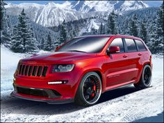 Hennessey Jeep Grand Cherokee HPE800 is 805-HP, Twin-Turbo Santa Sleigh - WOT on Motor Trend