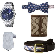 Valentine's Gifts For Him by laurendouglass2013 on Polyvore featuring мода, Tommy Hilfiger, Vineyard Vines and Gucci