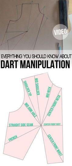 Dart manipulation and pivot pionts