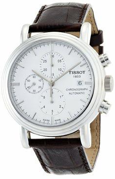 Tissot Men's T068.427.16.011.00 White Dial Carson Watch: Watches: Amazon.com