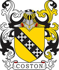 Coston Coat of Arms