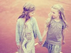 hippy chic <3 I love the girl's hair on the right