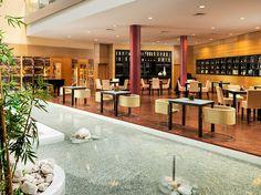 Dionissos Restaurant with Zen pool #h10hotels #h10