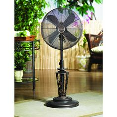 Deco Breeze DBF0623 Vines 38 50 Inch Outdoor Fan