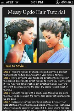 Bridesmaid hair- for me :) if its long enough