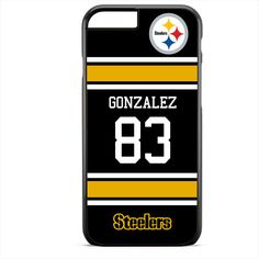 Gonzalez 83 Steelers Apple Phonecase For Iphone 4/4S Iphone 5/5S Iphone 5C Iphone 6 Iphone 6S Iphone 6 Plus Iphone 6S Plus