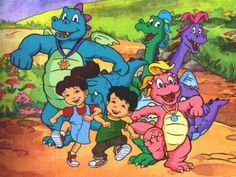 Dragontales, all 3 boys went thru the Dragontales phase. Grayson still loves them!  Great cartoon!!
