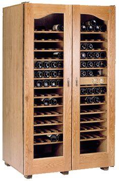 Bodegas climatizadas (armarios climatizados) para conservacion de botellas vino.