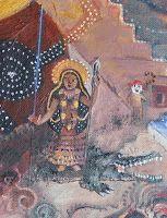 Akhilandeshvari —Goddess Never-Not-Broken Jungian Archetypes, Primal Fear, Roman Gods, Greek Gods And Goddesses, Spirit World, Mother Goddess, Durga Goddess, Mythical Creatures, The Magicians