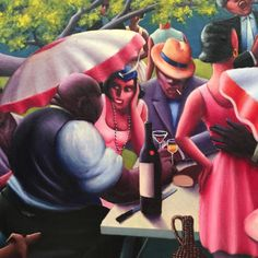 Explore the beautiful paintings by Archibald Motley with a virtual field trip, and a bonus novel recommendation, Sally Hemings by Barbara Chase-Riboud. Archibald Motley, Sally Hemings, Velvet Elvis, Lindy Hop, Art Icon, African American Art, Art Institute Of Chicago, Famous Artists, Beautiful Paintings