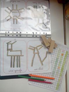 *Les kapla (jeu de construction) - ★Meroute en clis★