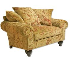 Just found this Oversized Chair and Ottoman - Highland Chair and Ottoman -- Orvis on Orvis.com!