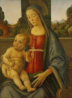 (Attributed to) Giovanni di Michele da Larciano (Graffione), Italian, c. 1455-1521 | por Faces of Ancient Europe