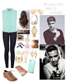 """""""I'm obsessed with Oxfords; Out with Liam"""" by one-violet-summer ❤ liked on Polyvore featuring beauty, Citizens of Humanity, Not Rated, Victoria's Secret, WithChic, Accessorize, Ray-Ban, Michael Kors, Payne and PBteen"""