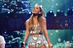 Ariana Grande onstage during HOT 99.5's Jingle Ball 2014 at VERIZON CENTER on December 15, 2014 in Washington, DC. (Photo: Getty Images for iHeartRadio)