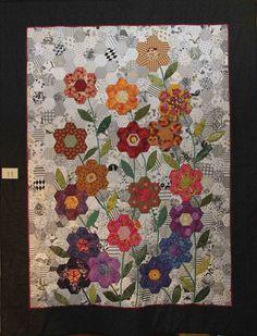 Hexagon Flower Garden   by alison.klein